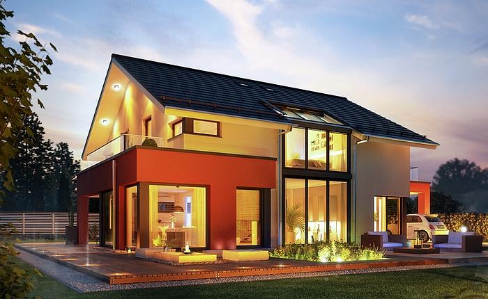 Villa concept m 163 carport balcon et baies vitr es for Villa concept construction vedene