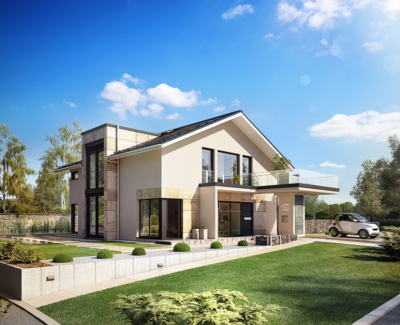 Concept m 163 villa au design moderne mistral construction for Villa concept construction vedene