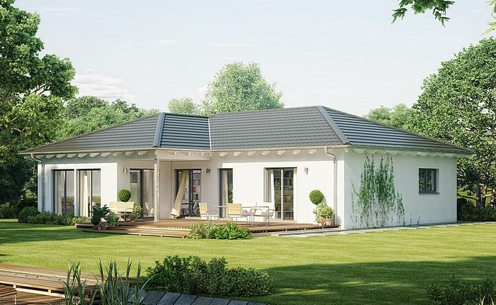 Plain pied archives mistral construction sa for Modele maison toit 4 pentes