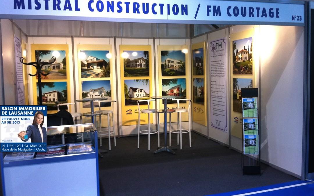 Salon immobilier de lausanne 2013 mistral construction for Salon immobilier