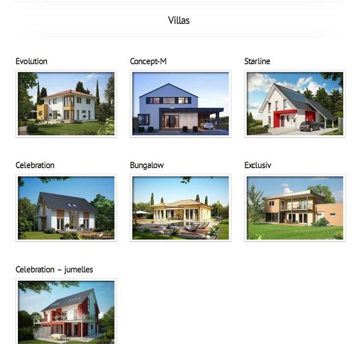 nos gammes de maisons cl s en main mistral construction sa. Black Bedroom Furniture Sets. Home Design Ideas