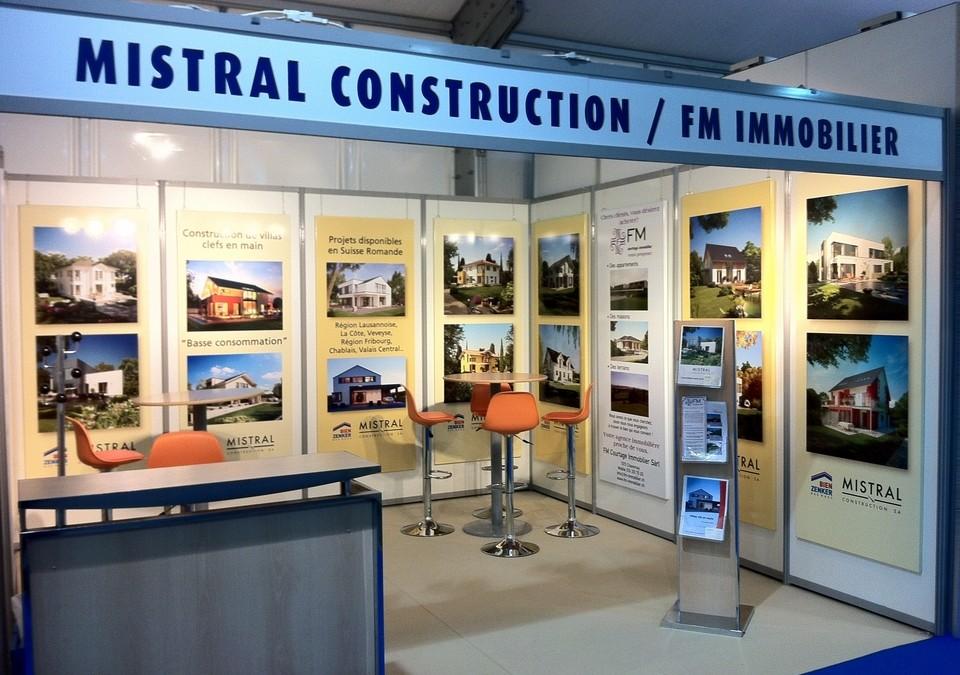 Salon immobilier de lausanne 2014 mistral construction sa for Salon immobilier