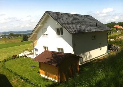 Villa Veveyse - Life 136 SD avec oriel - façade arrière
