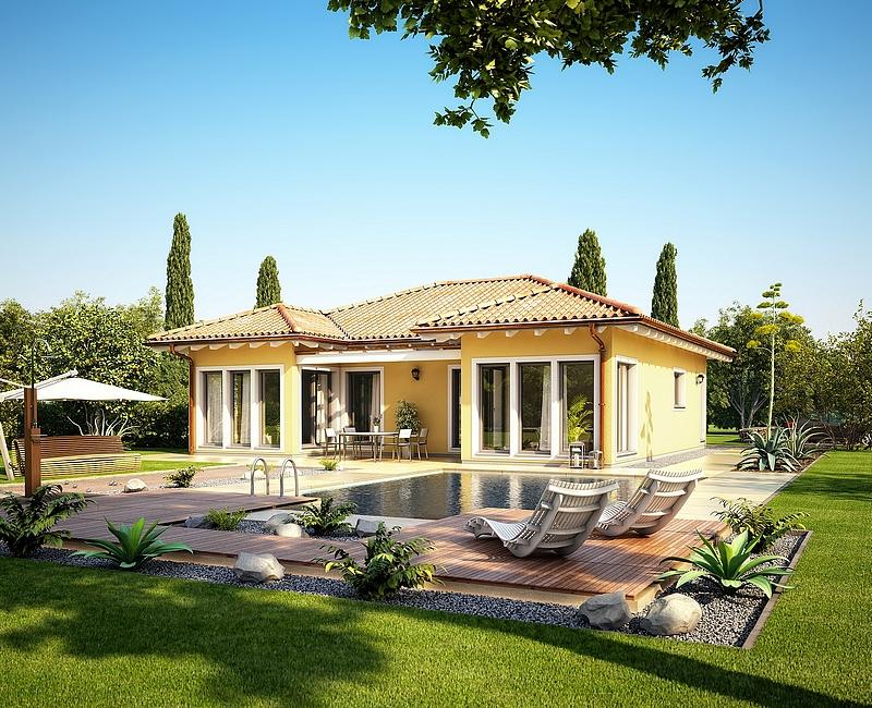 Villa plain pied concept m 100 mistral construction for Construction villa