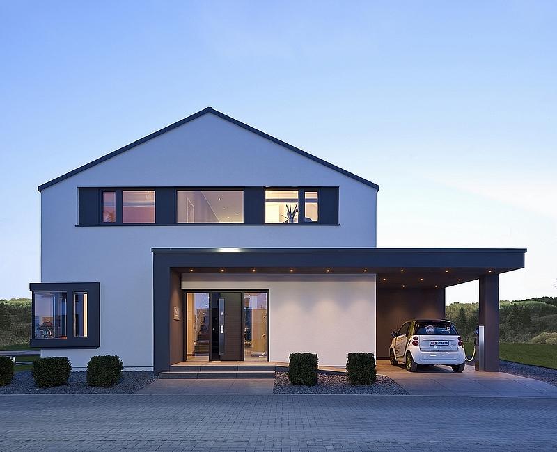 Concept m 172 villa 5 5 pi ces en ossature bois mistral for Ouverture toit maison