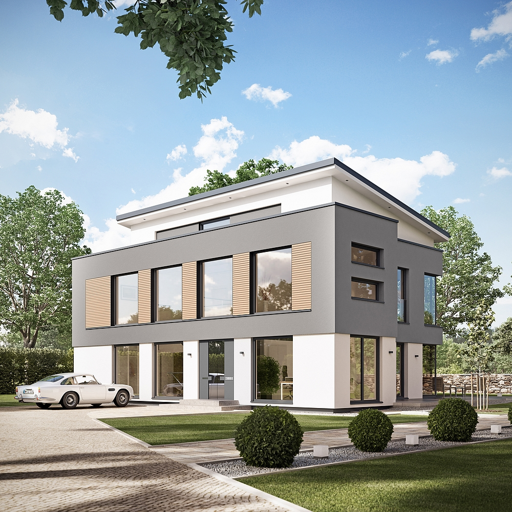 Concept m 188 villa au design moderne mistral construction for Villa concept construction vedene