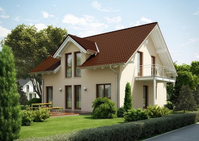 Villa Evolution 143 - balcon et lucarne