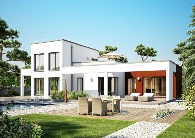 Villa Concept-M 100 - facade - variante 10