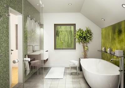 Villa Evolution 136 - Salle de bains