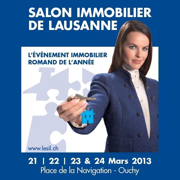 Salon immobilier de lausanne 2013 mistral construction sa for Salon immobilier