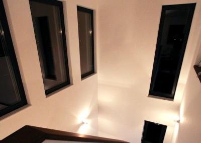 Villa Mistral - Veveyse - escalier