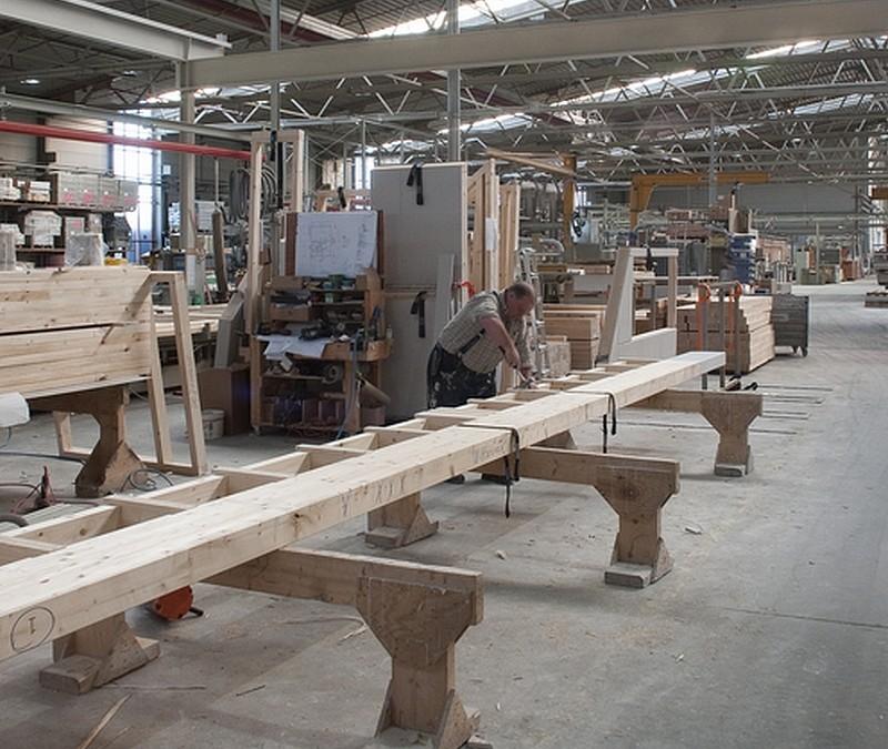 L ossature bois a le vent en poupe mistral construction sa for L ossature bois