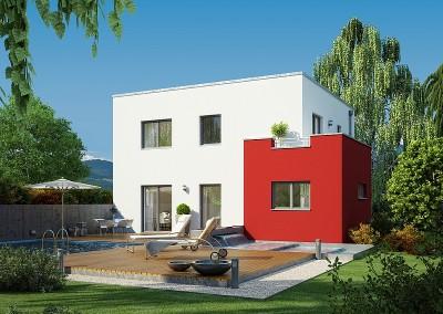 Villa Evolution 136 - toit plat