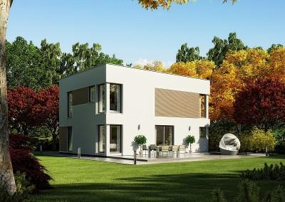 Villa Evolution 148 - variante à toit plat