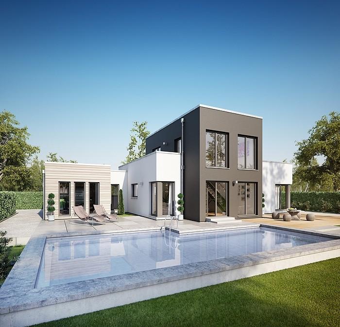 Bungalow archives mistral construction sa for Concept villa