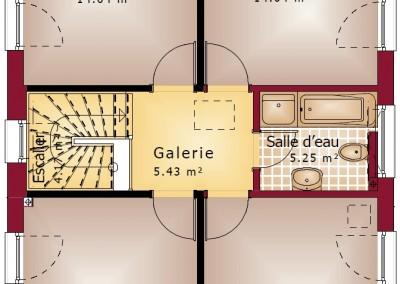 Villa-Starline-137-etage-4-chambres