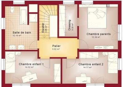 Etage-Evolution 148-toit plat