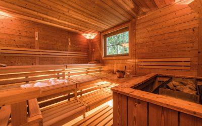 Un sauna à la maison…