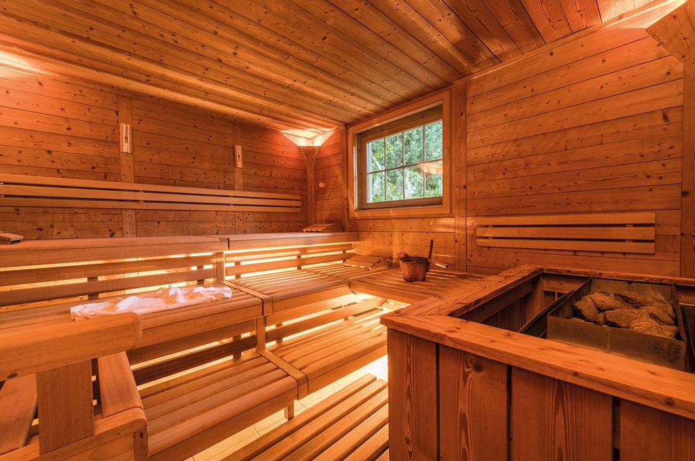 Un Sauna  La Maison   Mistral Construction Sa