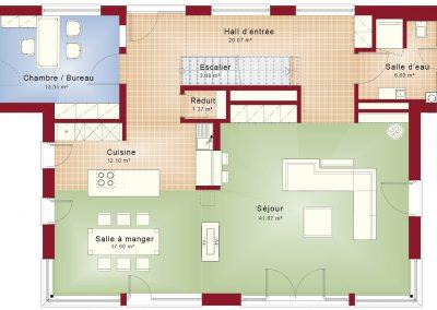 Rez-de-chaussée Concept-M 188 Design 4R