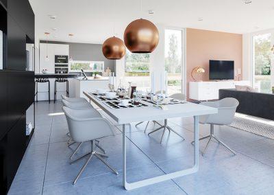 Concept-M 154 - cuisine et salle à manger