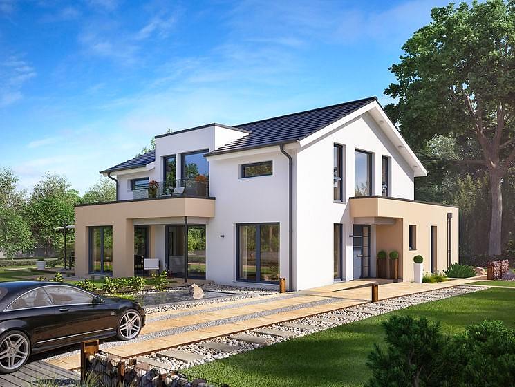 Concept m 155 villa mistral construire en suisse romande for Villa concept construction vedene