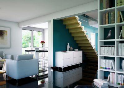 Evolution 134 - escalier