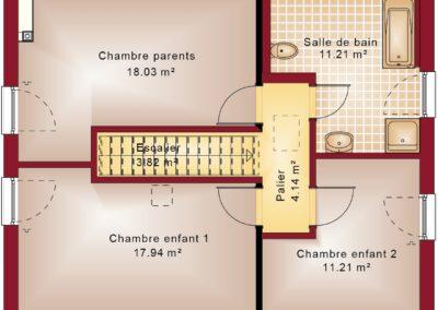 Evolution 134 - etage