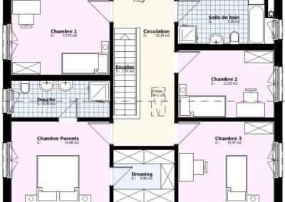 Etage villa Mistral 168